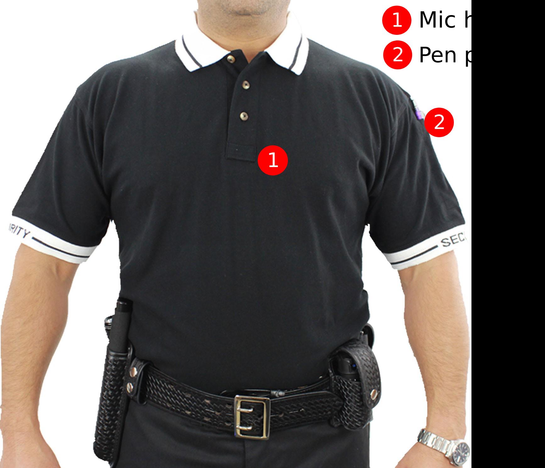 Poly Cotton S/S Security Polo Shirt-