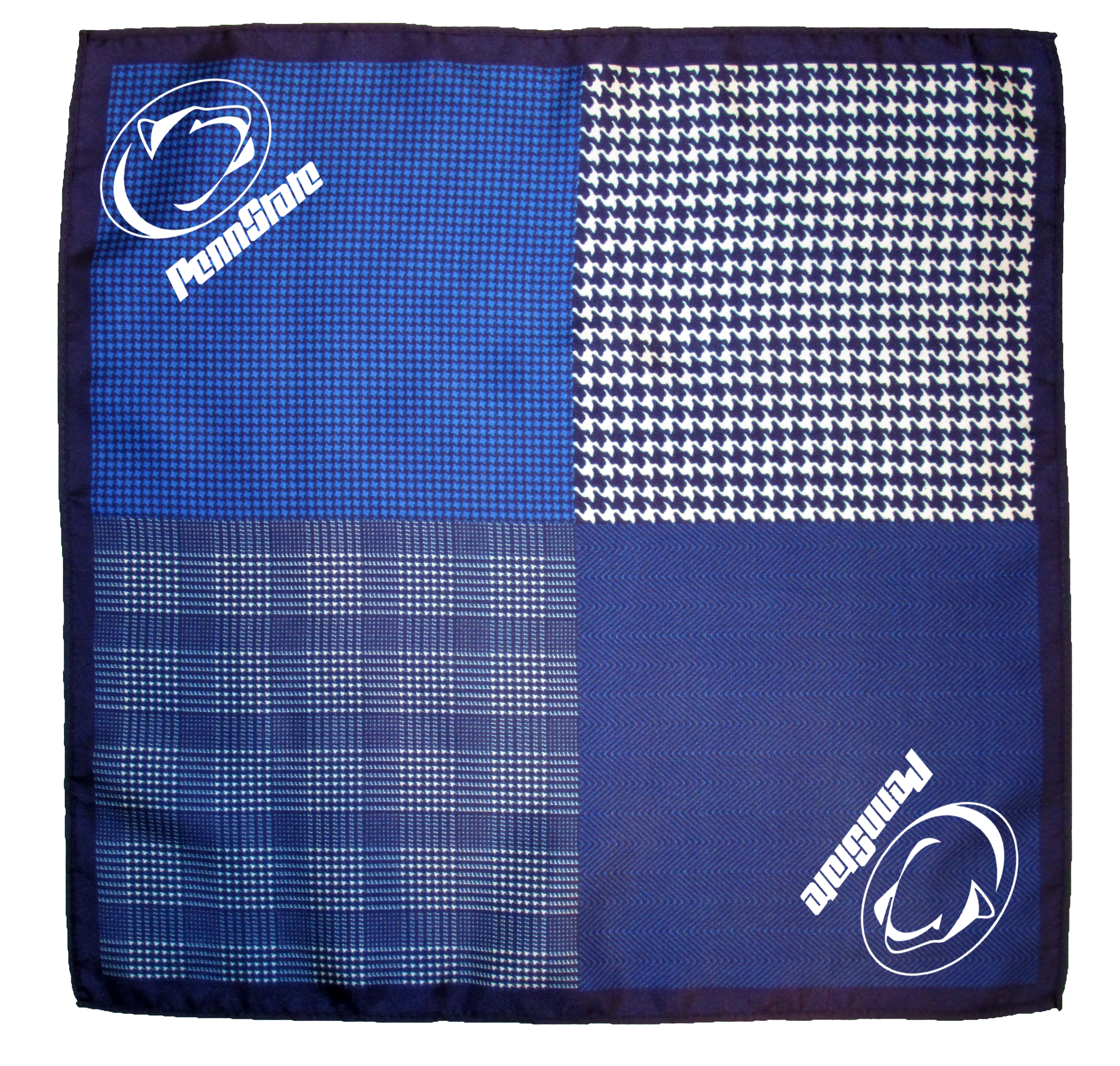 Pocket Squares with Custom Design Logo
