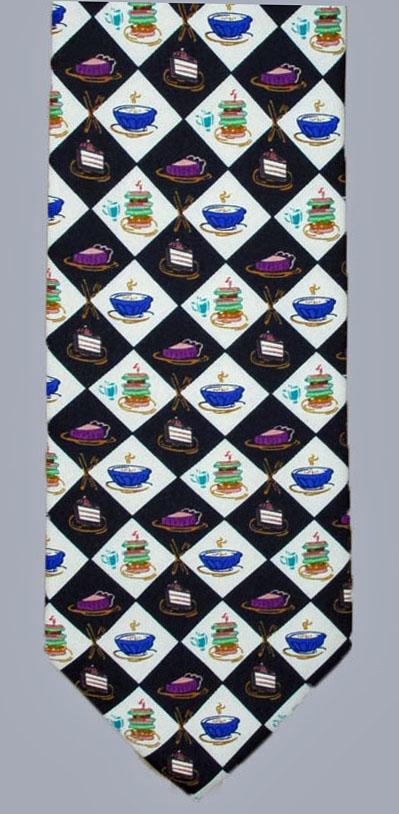 Stock - Desserts Print Tie