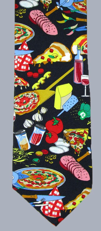 Stock - Pizza Tonight Tie