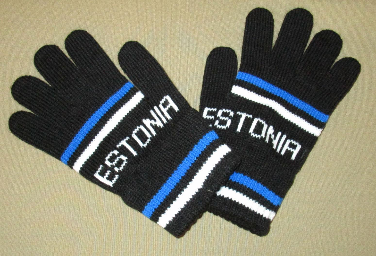 Acrylic Knit Gloves - Custom Logo