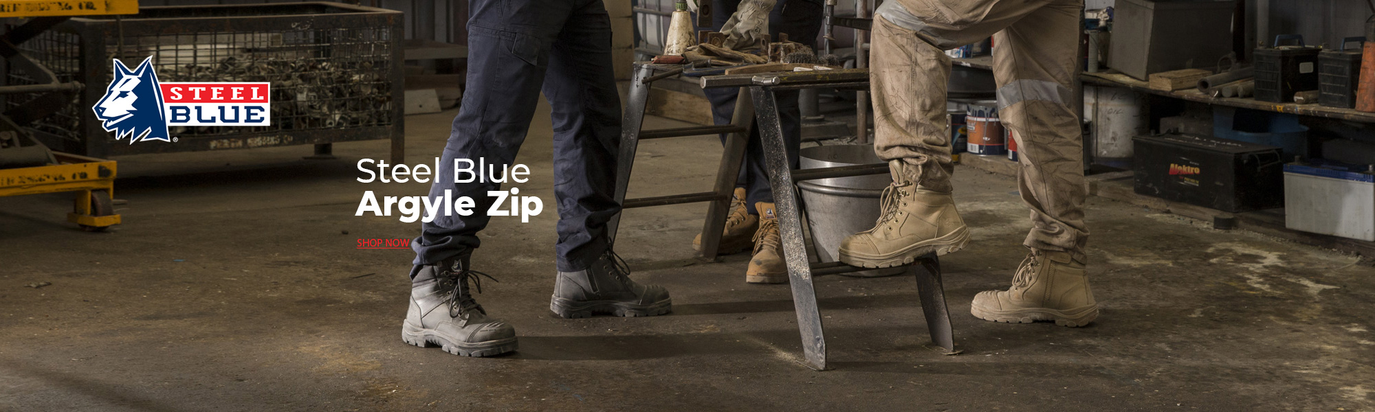 steelblue argyle zip