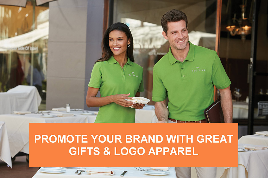 Promote Your Brand with Great Gifts & Logo Apparel