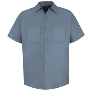 Short Sleeve Cotton Work Shirt -Red Kap®