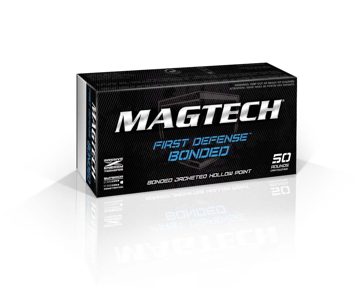 Magtech/CBC - 9MM Luger 124 Grain Bonded Jacketed Hollow Point-