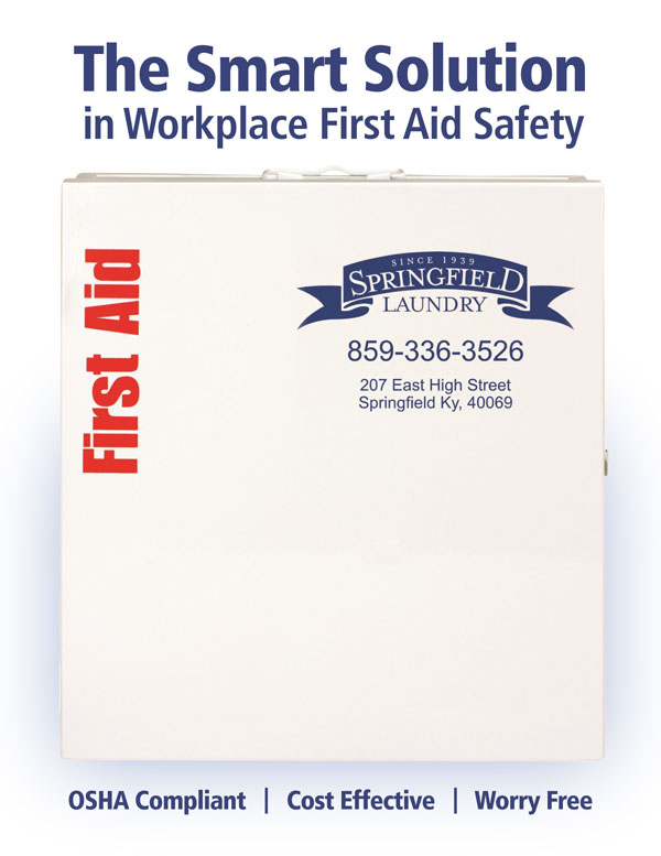 Springfield Laundry Smart Compliance First Aid Kit