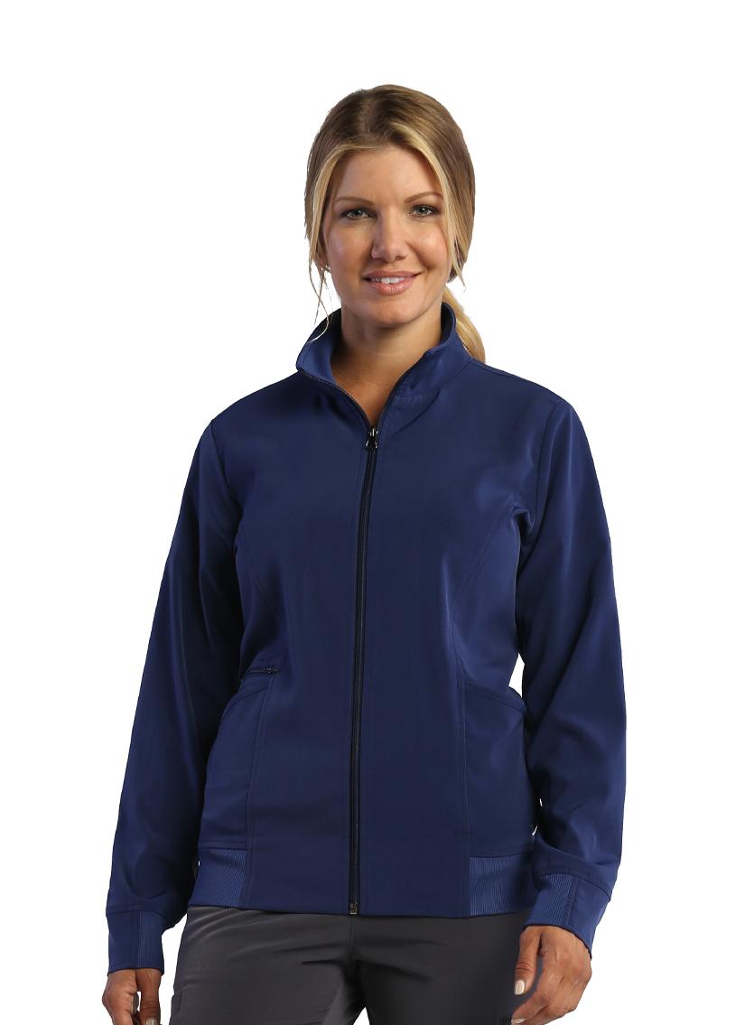 Ladies Zip Front Warm-Up Jacket - IRG Elevate-IRG