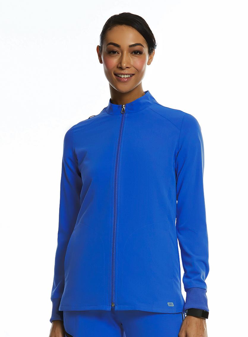 Ladies Side Pocket Warm-Up Jacket - IRG Elite -IRG