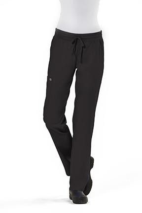 Ladies Semi-Tapered Pant with Yoga Style Waistband - IRG Edge-IRG
