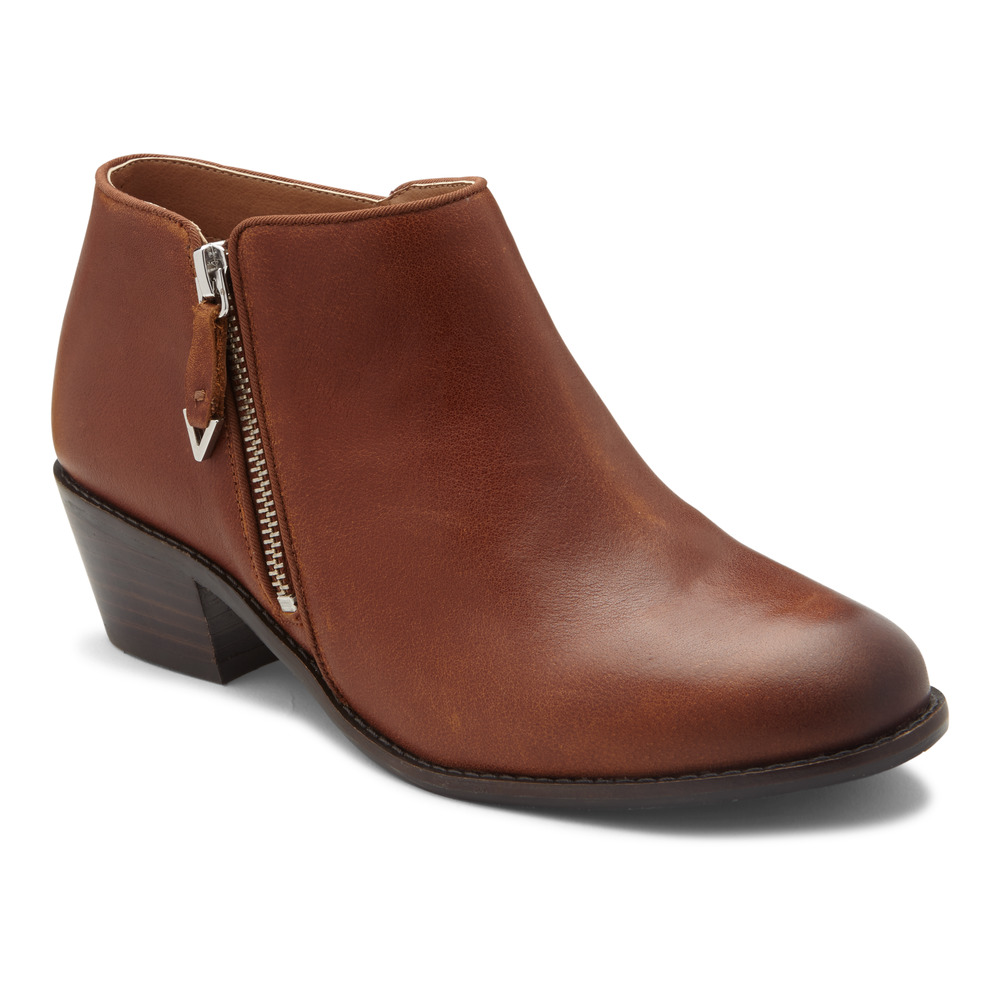 Vionic Joy Jolene Ankle Bootie-Vionic Shoes