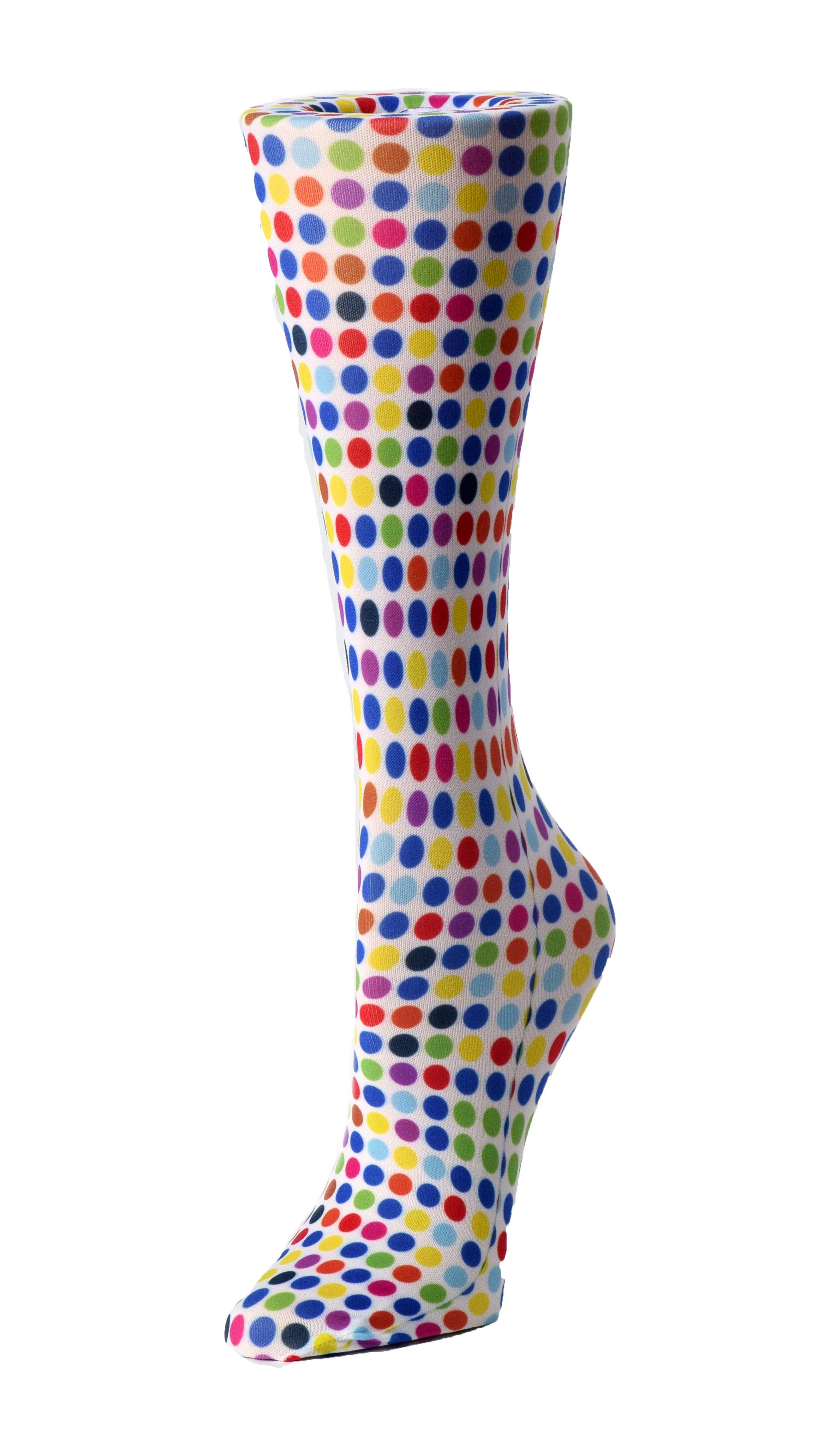 Chevrons, Paisleys, & Polka Dots - Cutieful Compression Socks-Cutieful