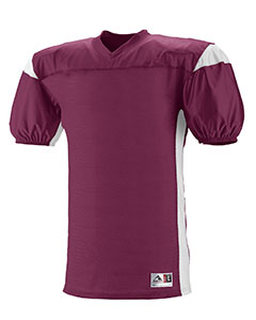 Youth Polyester Diamond Mesh V-Neck Jersey With Contrast Dazzle Inserts