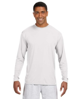 Mens Long-Sleeve Cooling Performance Crew
