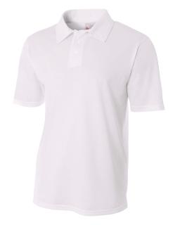 Mens Textured Polo Shirt-A4