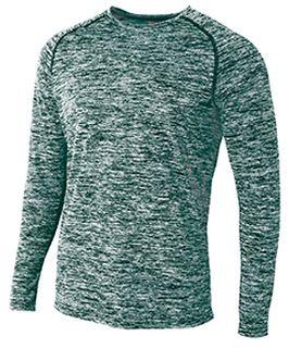 Adult Space Dye Long Sleeve Raglan T-Shirt-
