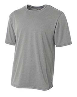 Adult Topflight Heather Performance T-Shirt-