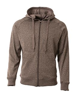 Mens Agility Full-Zip Tech Fleece Hooded Sweatshirt-A4
