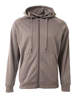 Mens Agility Full-Zip Tech Fleece Hooded Sweatshirt-A4