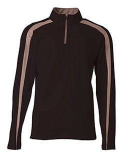 Mens Spartan Fleece Quarter-Zip Sweatshirt-