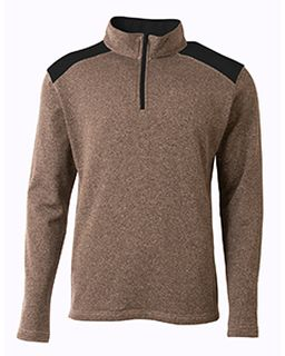 Mens Tourney Fleece Quarter-Zip Pullover-A4