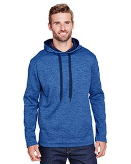 Mens Tonal Space Dye-Tech Fleece Hoodie-A4