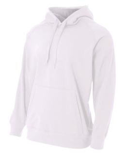 Mens Solid Tech Fleece Hoodie-