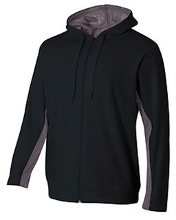 Adult Tech Fleece Full Zip Hooded Sweatshirt-A4
