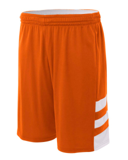"Adult 10"" Inseam Reversible Speedway Shorts-"