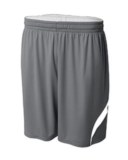 Adult Performance Doubl/Double Reversible Basketball Short-