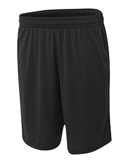 "Adult Player 10"" Pocketed Polyester Short-A4"