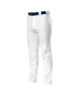 Pro Style Open Bottom Baggy Cut Baseball Pants-