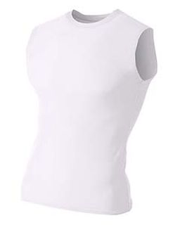 Youth Sleeveless Compression Muscle T-Shirt-