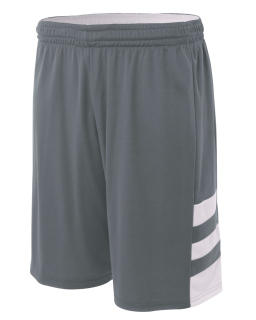 "Youth 8"" Inseam Reversible Speedway Shorts-"