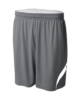Youth Performance Double/Double Reversible Basketball Short-A4