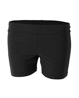 "Youth Girls 4"" Volleyball Short-"