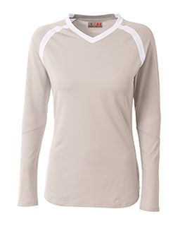 Ladies Ace Long Sleeve Volleyball Jersey-