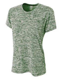 Ladies Space Dye Tech T-Shirt-