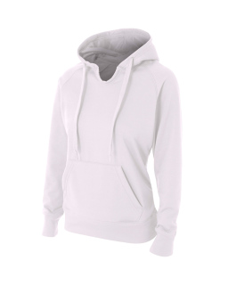Ladies Tech Fleece Hoodie-A4