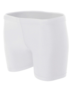"Ladies 4"" Inseam Compression Shorts-A4"
