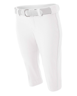 Ladies Softball Pants w/ Piping