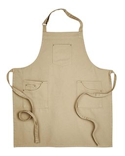 Unisex Cotton Chino Bib Apron-Artisan Collection by Reprime