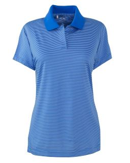 Ladies Climalite Classic stripe Short-Sleeve Polo-adidas Golf