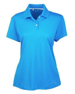 Ladies Climalite Short-Sleeve Pique Polo-adidas Golf