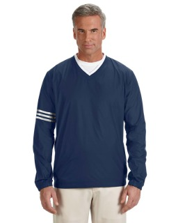 Mens Climalite Colorblock V-Neck Wind Shirt-adidas Golf