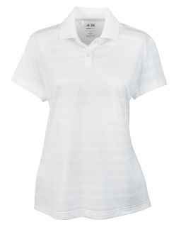 Ladies Climalite Textured Short-Sleeve Polo-adidas Golf
