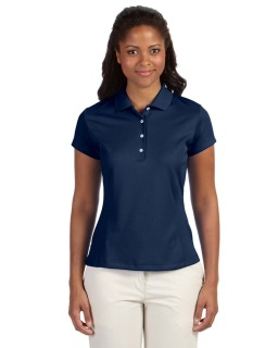 Ladies Climalite Texture Solid Polo-adidas Golf