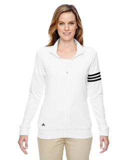 Ladies Climalite 3-Stripes Full-Zip