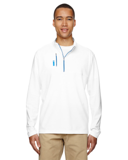 Mens Puremotion™ Mixed Media Quarter-Zip-adidas Golf