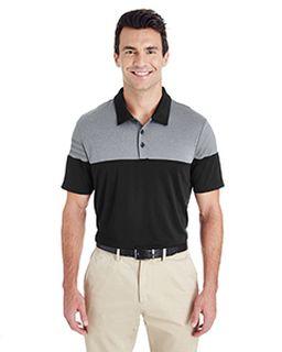 Mens 3-Stripes Heather Block Polo-adidas Golf