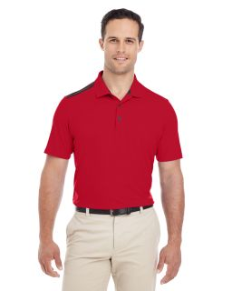 Mens 3-Stripes Shoulder Polo-adidas Golf
